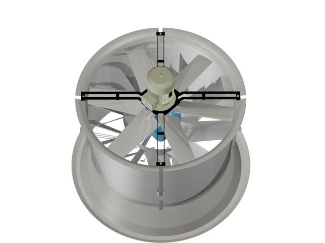 Ventilador 3D Cow cooling