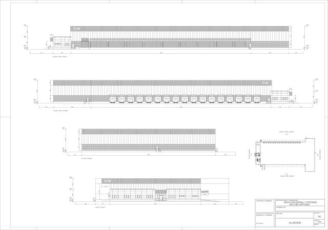 Arquitectura. Alzados generales