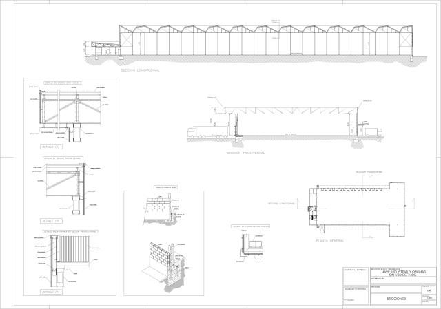 Arquitectura. Secciones generales