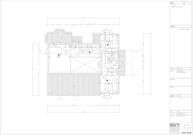Arquitectura. Planta primera