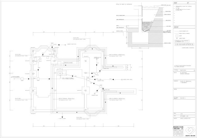 Estructura. Cimentación y saneamiento