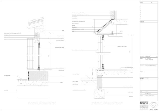 Arquitectura. Detalles constructivos 1