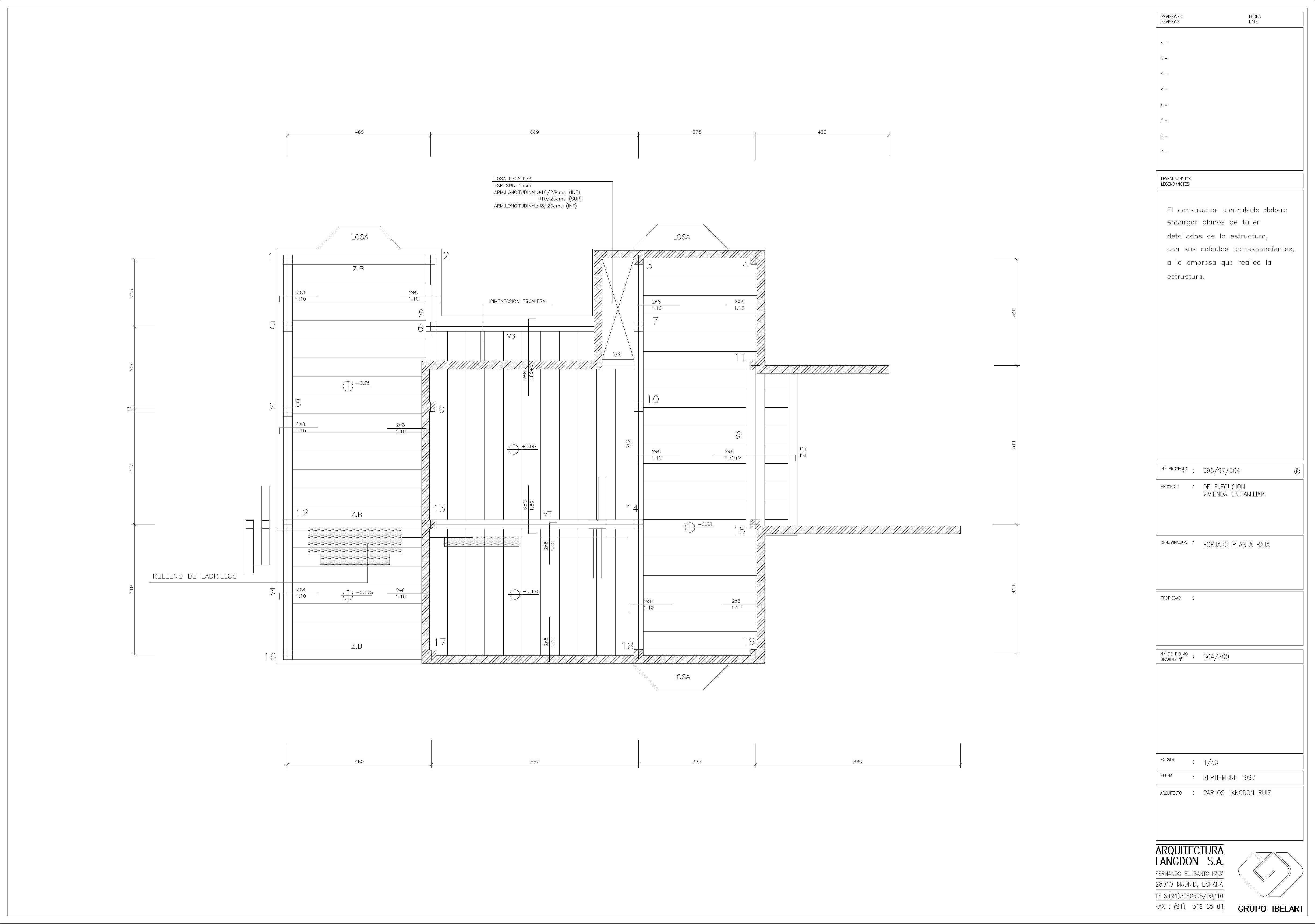 Sector residencial delineacion3d for Planos de estructuras